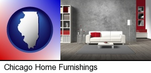 home furnishings - 3d rendering in Chicago, IL