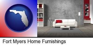 Fort Myers, Florida - home furnishings - 3d rendering
