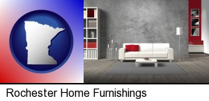 home furnishings - 3d rendering in Rochester, MN