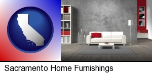 home furnishings - 3d rendering in Sacramento, CA