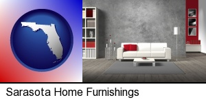 Sarasota, Florida - home furnishings - 3d rendering