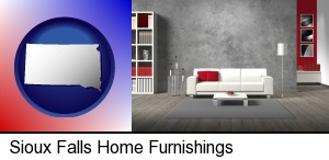 home furnishings - 3d rendering in Sioux Falls, SD
