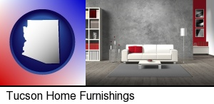 Tucson, Arizona - home furnishings - 3d rendering