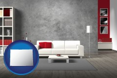 colorado home furnishings - 3d rendering
