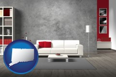 connecticut home furnishings - 3d rendering