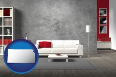 kansas home furnishings - 3d rendering