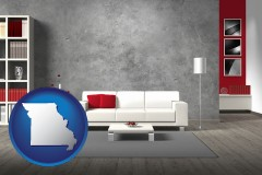 missouri home furnishings - 3d rendering