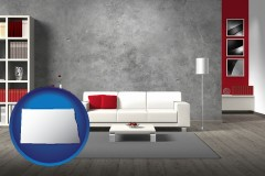 north-dakota home furnishings - 3d rendering