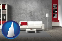 new-hampshire home furnishings - 3d rendering