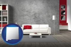 new-mexico home furnishings - 3d rendering