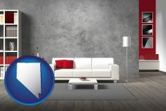 nevada home furnishings - 3d rendering