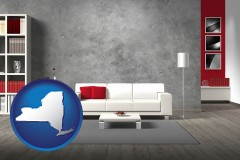 new-york home furnishings - 3d rendering