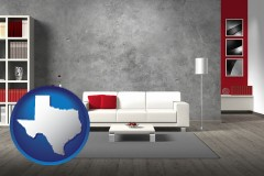 texas home furnishings - 3d rendering