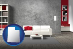 utah home furnishings - 3d rendering
